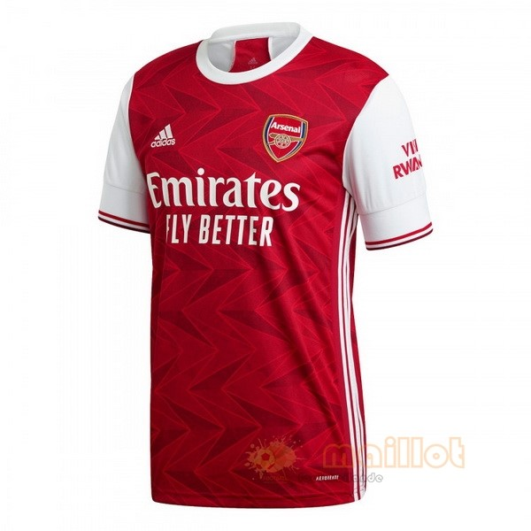 Domicile Maillot Arsenal 2020 2021 Rouge Destockage Maillot De Foot