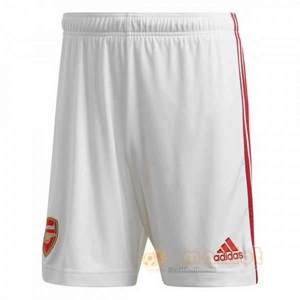 Domicile Pantalon Arsenal 2020 2021 Blanc Destockage Maillot De Foot