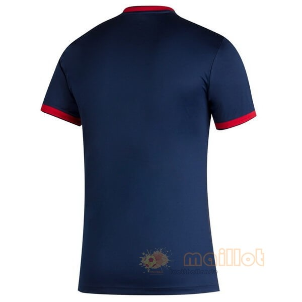 Domicile Maillot Chicago Fire 2020 2021 Bleu Destockage Maillot De Foot