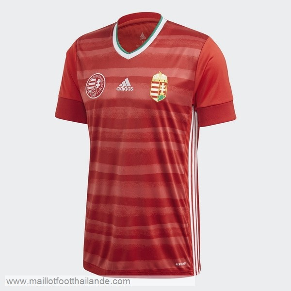 Domicile Maillot Hungría 2020 Rouge Destockage Maillot De Foot