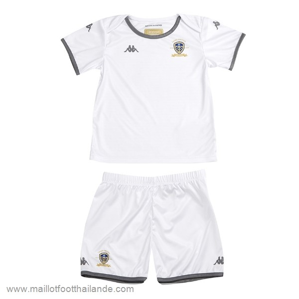 Domicile Maillot Ensemble Enfant Leeds United 2019 2020 Blanc Destockage Maillot De Foot