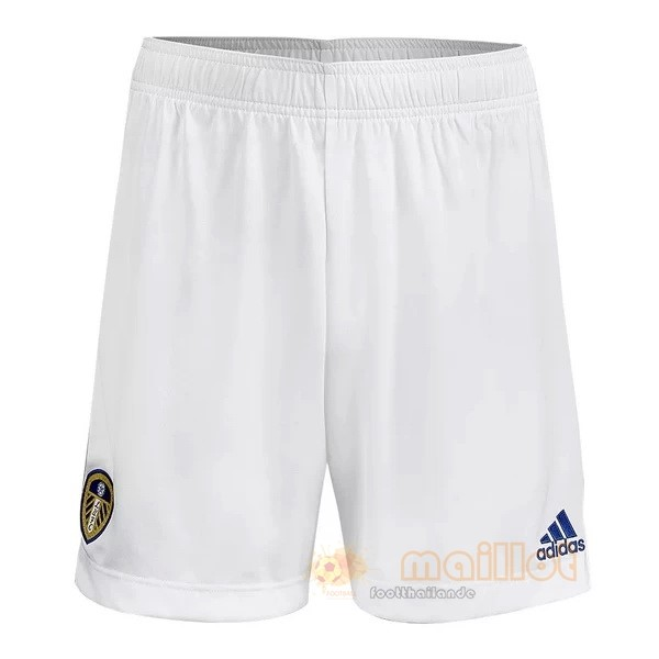 Domicile Pantalon Leeds United 2020 2021 Blanc Destockage Maillot De Foot