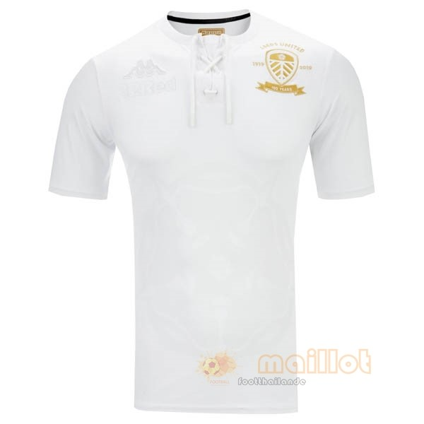 Édition commémorative Maillot Leeds United 2020 2021 Blanc Destockage Maillot De Foot