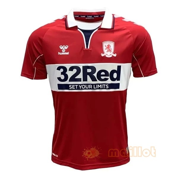 Domicile Maillot Middlesbrough 2020 2021 Rouge Destockage Maillot De Foot