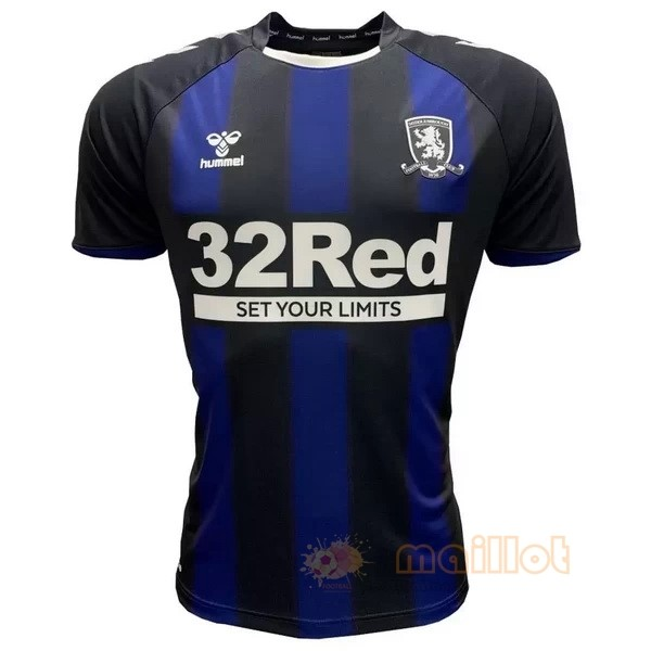 Exterieur Maillot Middlesbrough 2020 2021 Bleu Destockage Maillot De Foot