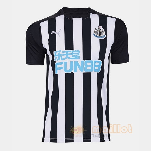 Domicile Maillot Newcastle United 2020 2021 Noir Destockage Maillot De Foot