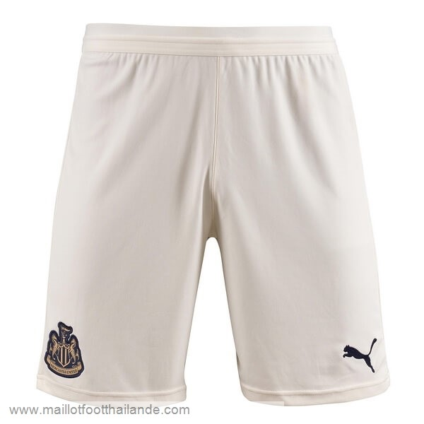 Exterieur Pantalon Newcastle United 2018 2019 Blanc Destockage Maillot De Foot