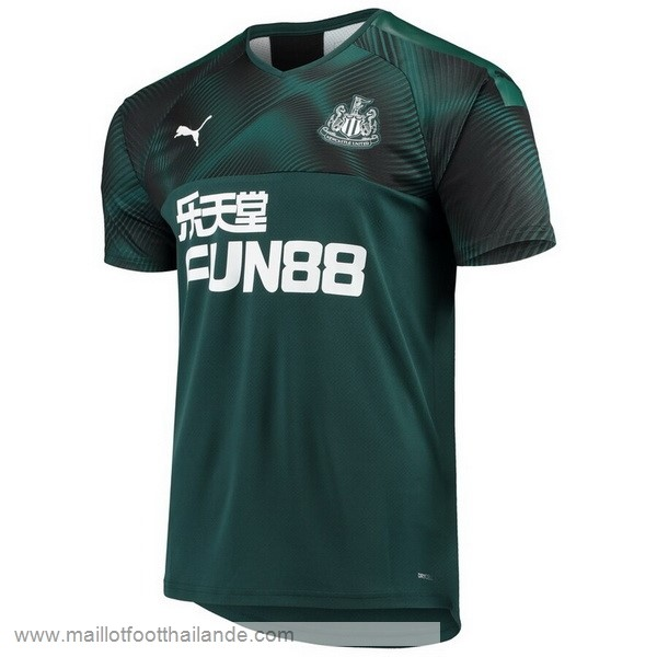 Exterieur Maillot Newcastle United 2019 2020 Vert Destockage Maillot De Foot