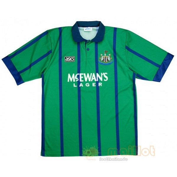 Third Maillot Newcastle United Rétro 1994 1995 Vert Destockage Maillot De Foot
