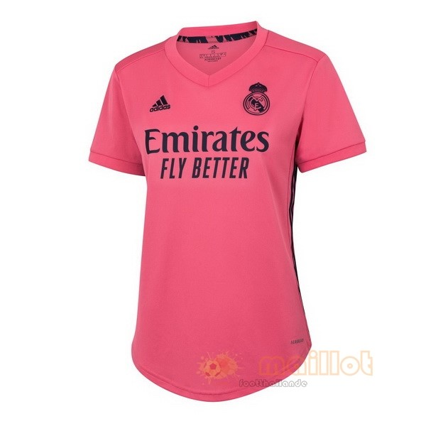 Exterieur Maillot Femme Real Madrid 2020 2021 Rose Destockage Maillot De Foot