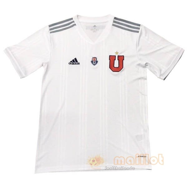 Exterieur Maillot Universidad De Chili 2020 2021 Blanc Destockage Maillot De Foot